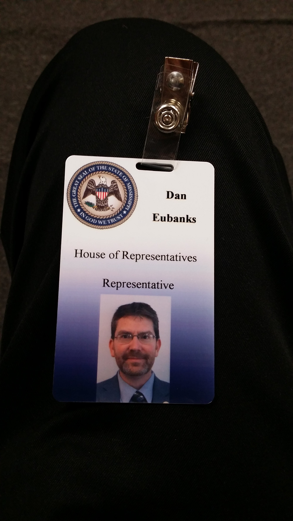 My new keycard/badge for the Capital.