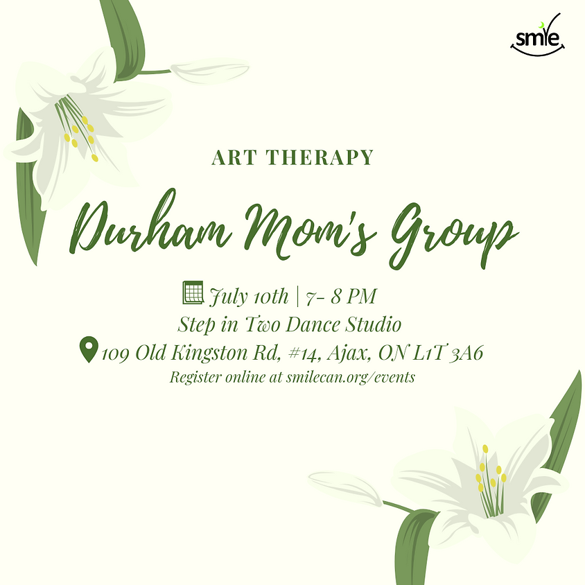 Durham Mom's Group: Art Therapy