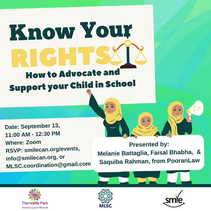 Know Your Rights |  How to Advocate and Support your Child in School  | PooranLaw