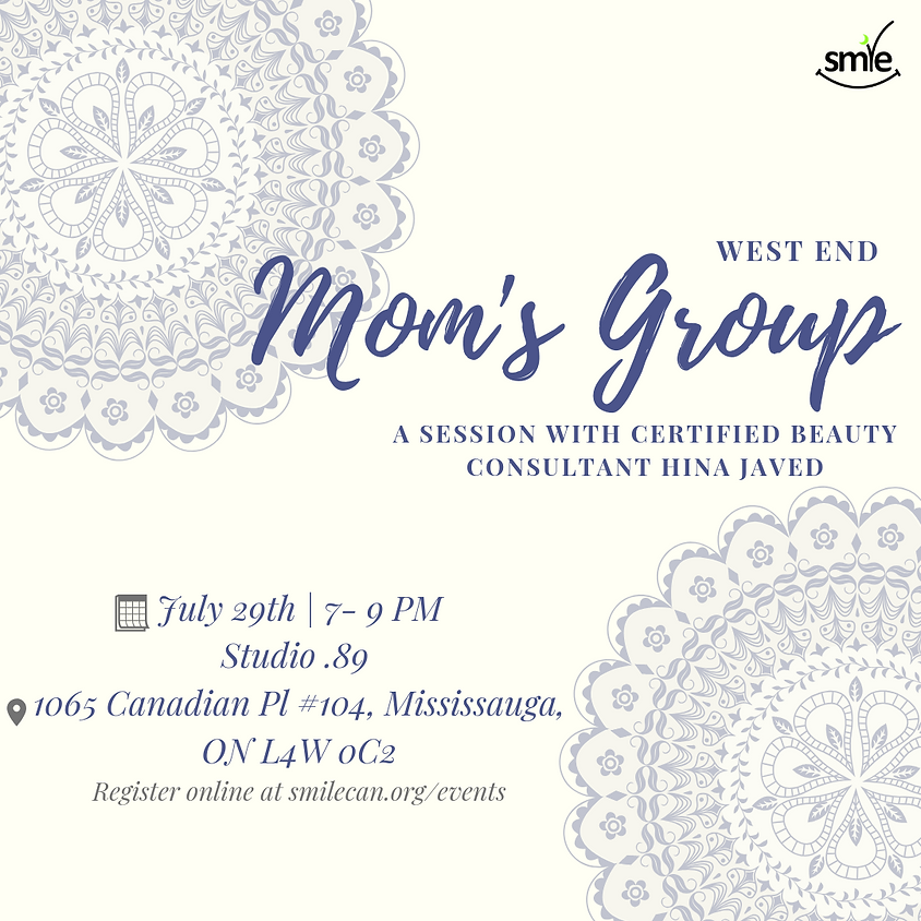 Mom's Group West: Beauty Consultation