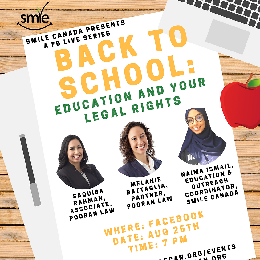 Back to School Series: Education and Your Legal Rights