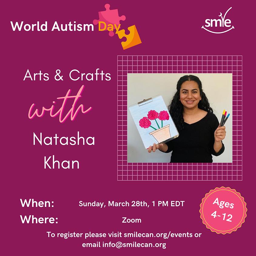Arts & Crafts with Natasha Khan