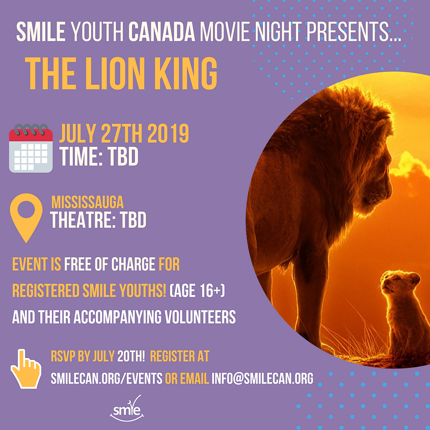 Youth Movie Night: The Lion King