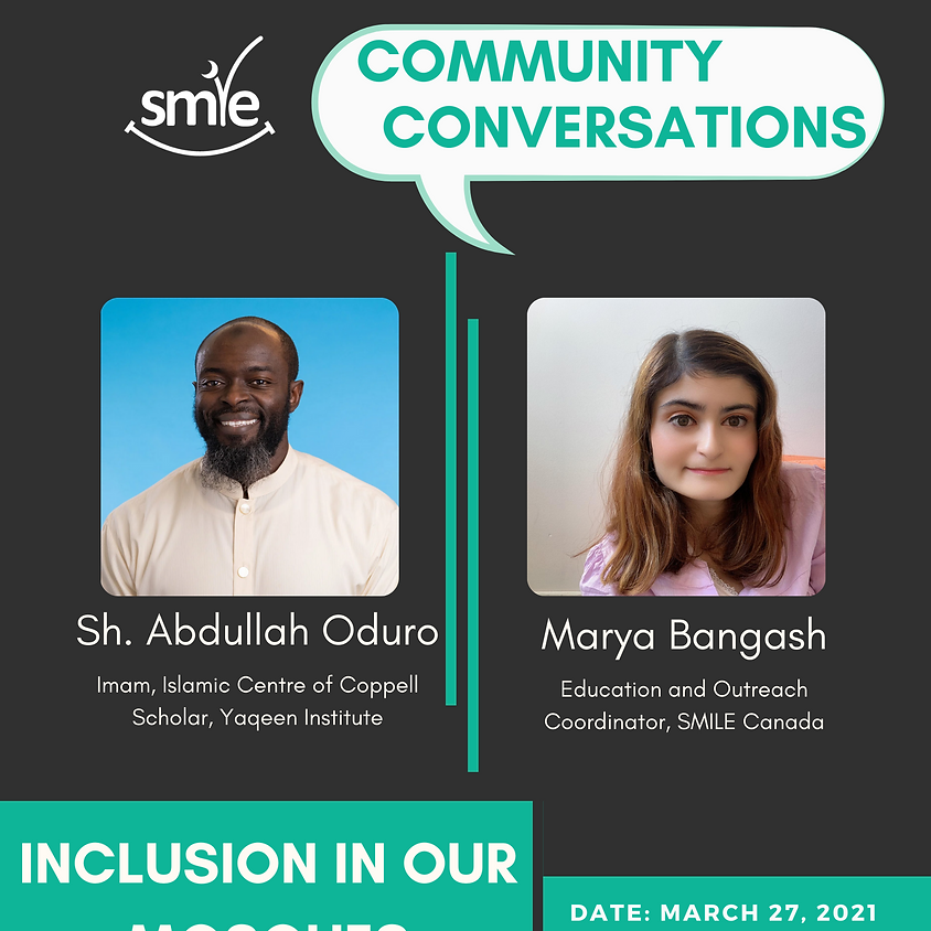 Community Conversations: Inclusion in Our Mosques