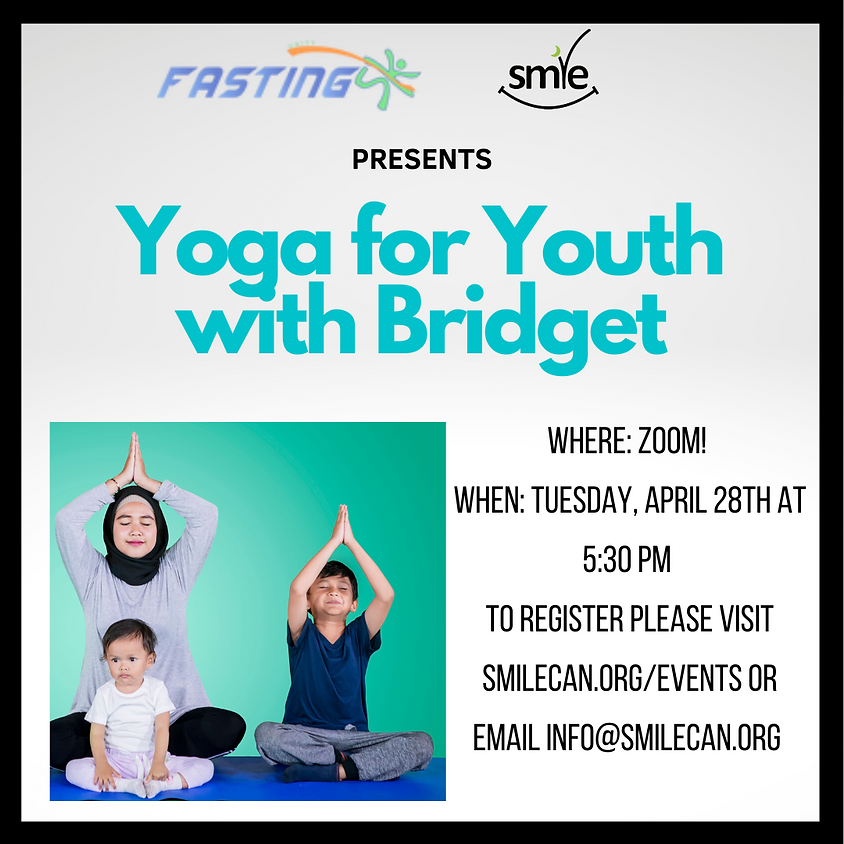 Yoga for Youth with Bridget!