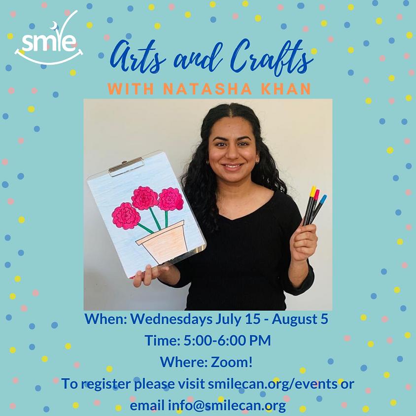 Arts and Crafts with Natasha Khan