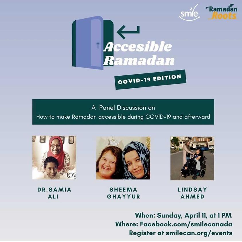 Accessible Ramadan Panel - COVID-19 Edition