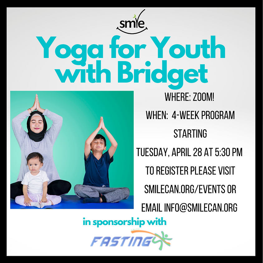 Yoga for Youth with Bridget