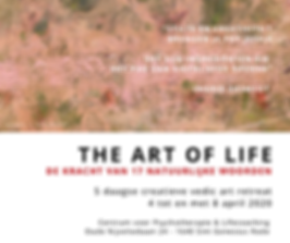 Facebook The Art of Life - 4-8 april Eri