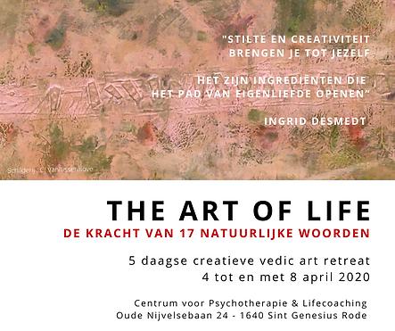 Facebook The Art of Life - 4-8 april Eri