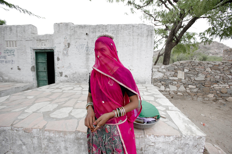 Tilonia village - India