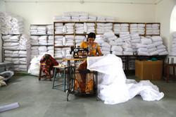 Making mosquito nets