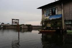 Flooded basketball court - Manila