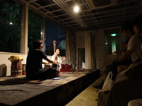 NIMAI NITAI ×uskabard 合同展 演奏会「印度音巡り」@GULI GULI Gallery