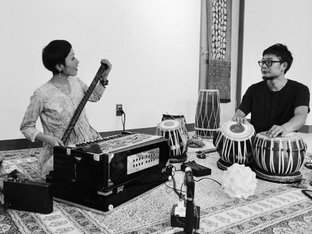 印度音巡り@兵庫西脇&多可 + Ananda Vana@岡山御津での 音楽会模様