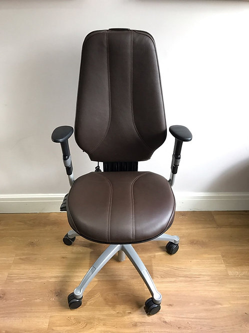 Brown Leather ...The RH Logic 400 ergonomic office chair