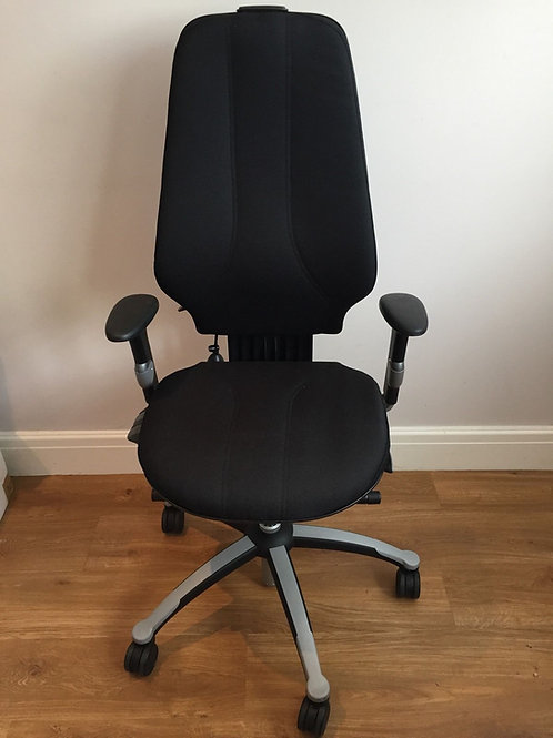 RH Logic 400 Ergonomic Chair 2 button . upto 12 hour sit time
