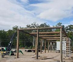 Construction has begun on the Driving Wheels Roadhouse.