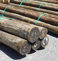 The timber for the Driving Wheels Roadhouse has arrived!
