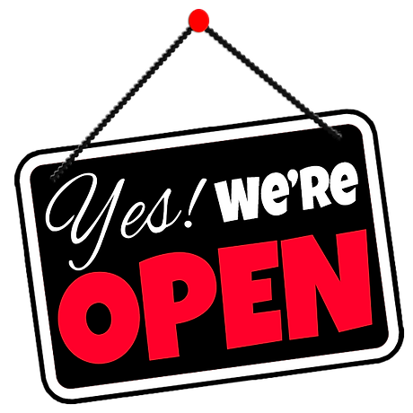 C Original Yes We're Open Sign.png