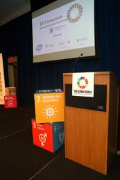 The 2017 Symposium stage.
