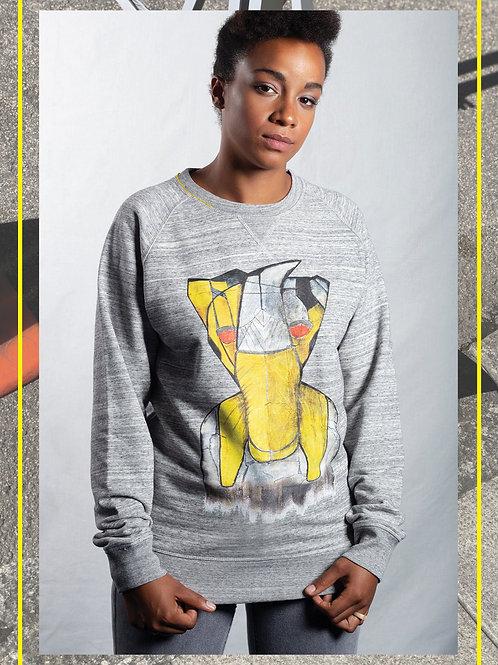 Richiwaga Yellow Monster Sweatshirt