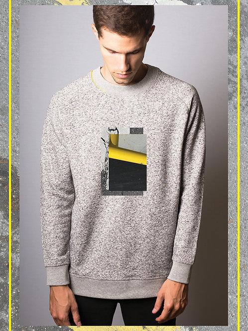 Hibi YLW Grey Melange Pullover