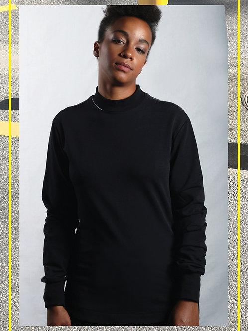 Hibi Black Sweatshirt