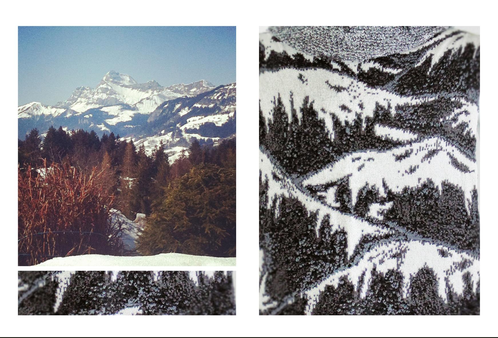 Mont-Blanc / Sur L'alpage