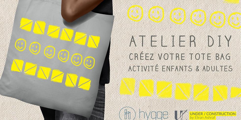 Atelier Tote Bag DIY Child + Parent Activity
