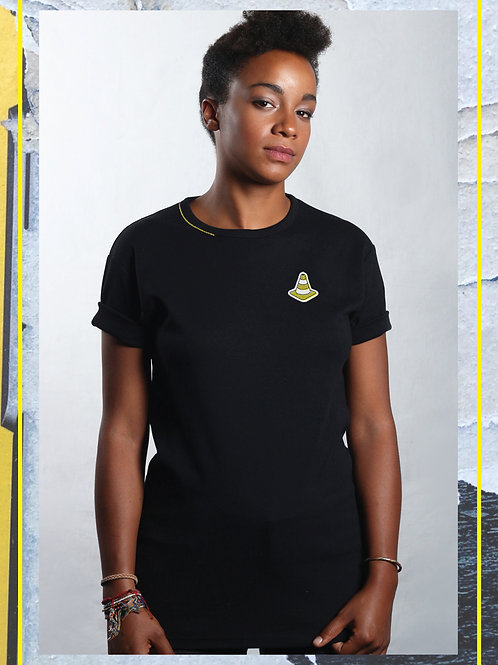 Cone Patch Black T-Shirt