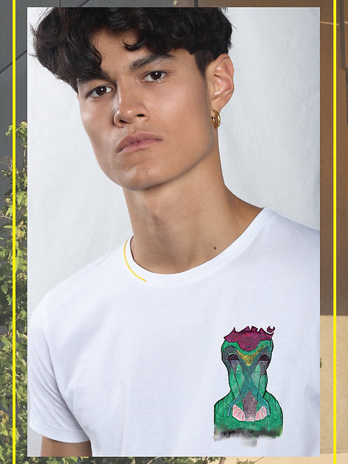 Yuplana Mini Monster Organic Cotton T-shirt