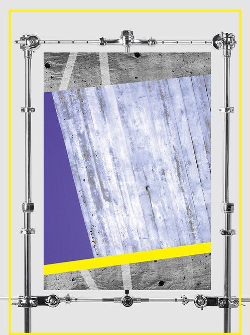 """Cement Dreams"" Poster A2 42X59.4 cm"