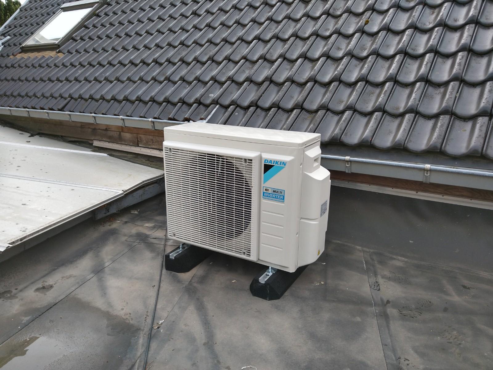 Daikin installatie airco
