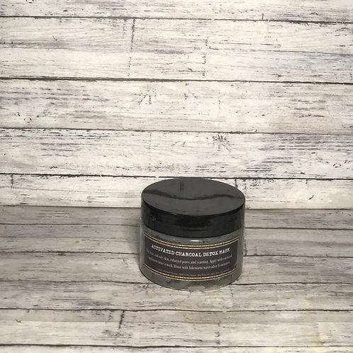 ACTIVATED CHARCOAL DETOX MASK