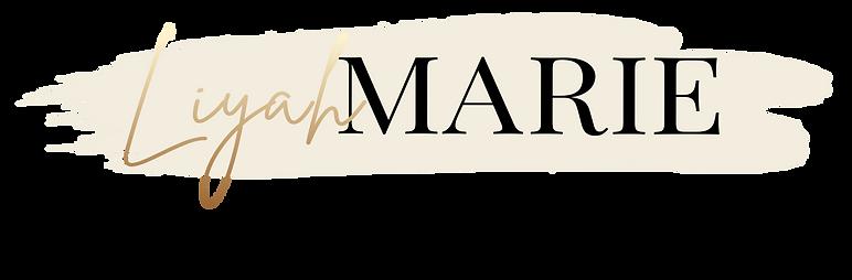 Liyah Marie Aesthetics - Logo Background