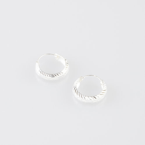 Thick Twist Earrings