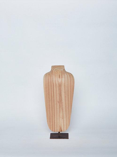 Medium Organic Wooden Bust