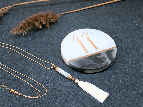 Simone Necklace & Lily Earrings