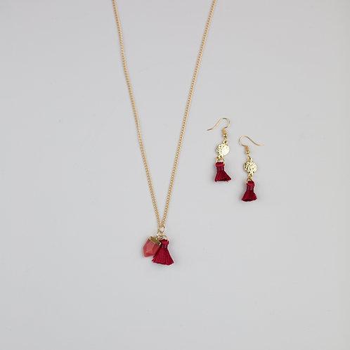 Hester Necklace & Earrings