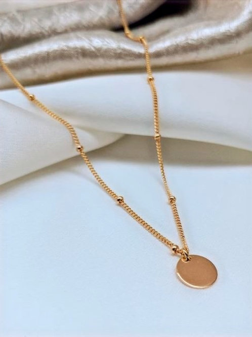 Classic Disk Necklace