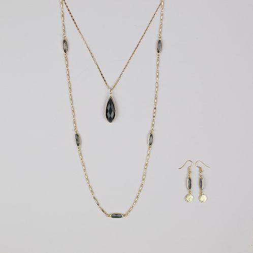 Clara Necklace & Brook Necklace
