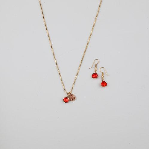 Hana Necklace & Bliss Earrings