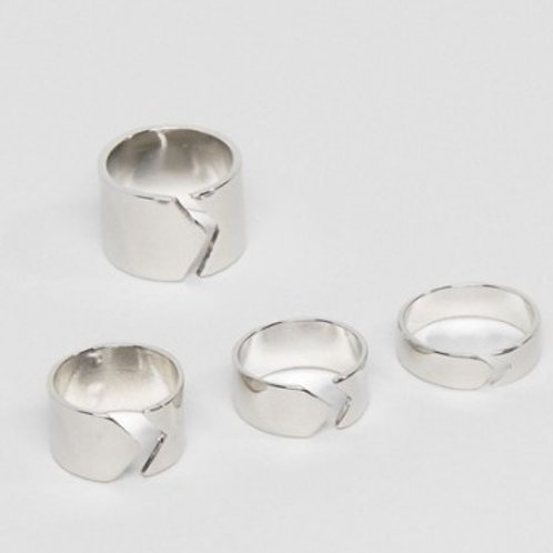 4 Pack Of Rings