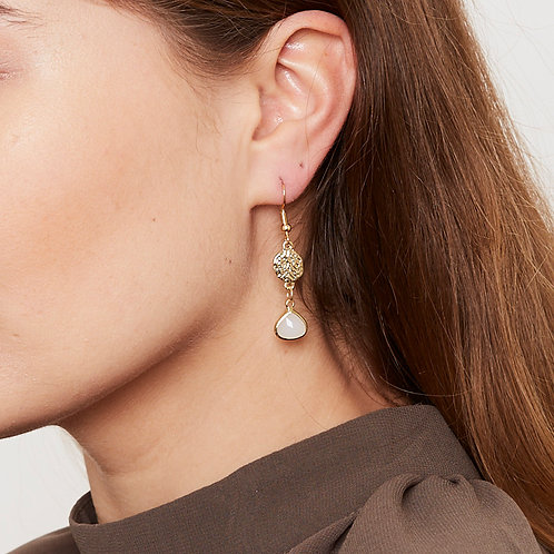 Rubin Earrings
