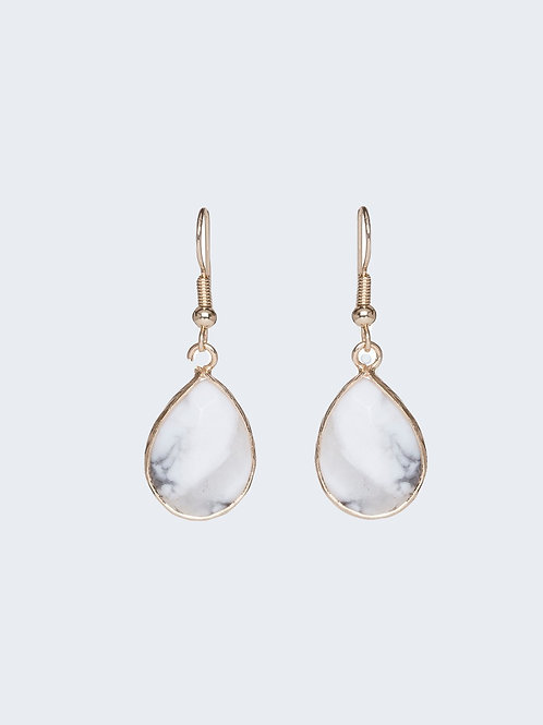 Spey Earrings Marble