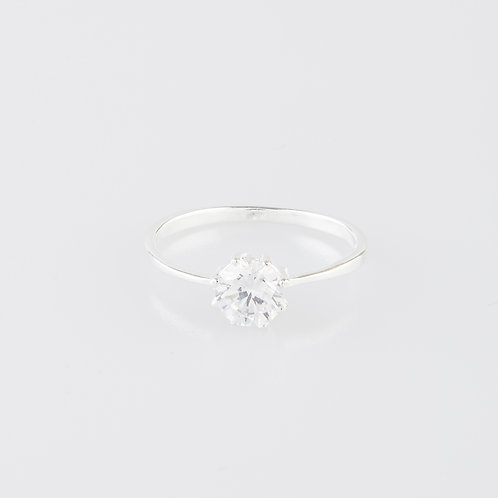 Small Crystal Ring