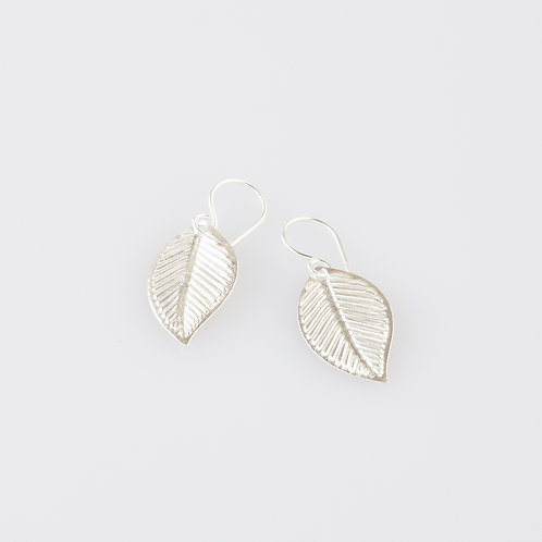 Medium Leaf Earrings