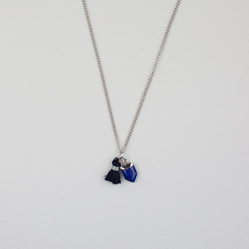 Hester Necklace Navy