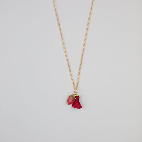 Hester Necklace Red